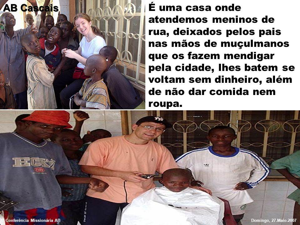 São meninos entre os 5 e os 18 anos, que recebem alimento, actividades didácticas, atendimento médico, desporto e higiene.