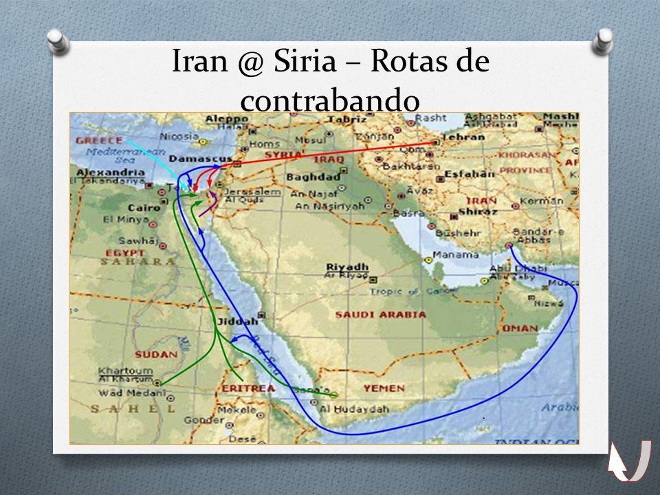 13 Iran @ Siria – Rotas de contrabando