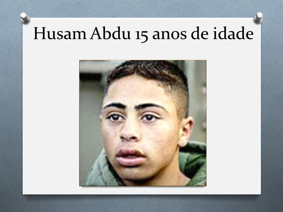 Husam Abdu 15 anos de idade