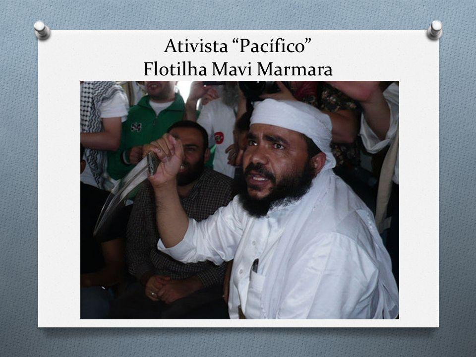 Ativista Pacífico Flotilha Mavi Marmara