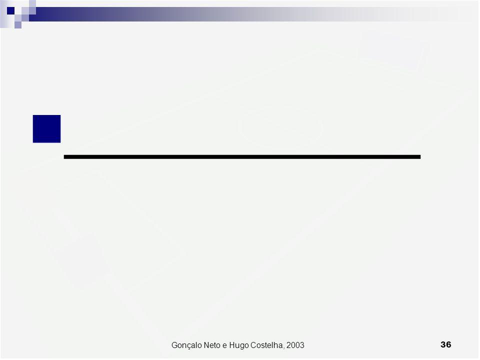 36Gonçalo Neto e Hugo Costelha, 2003 __________