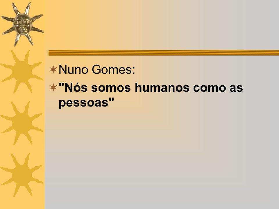 Nuno Gomes: