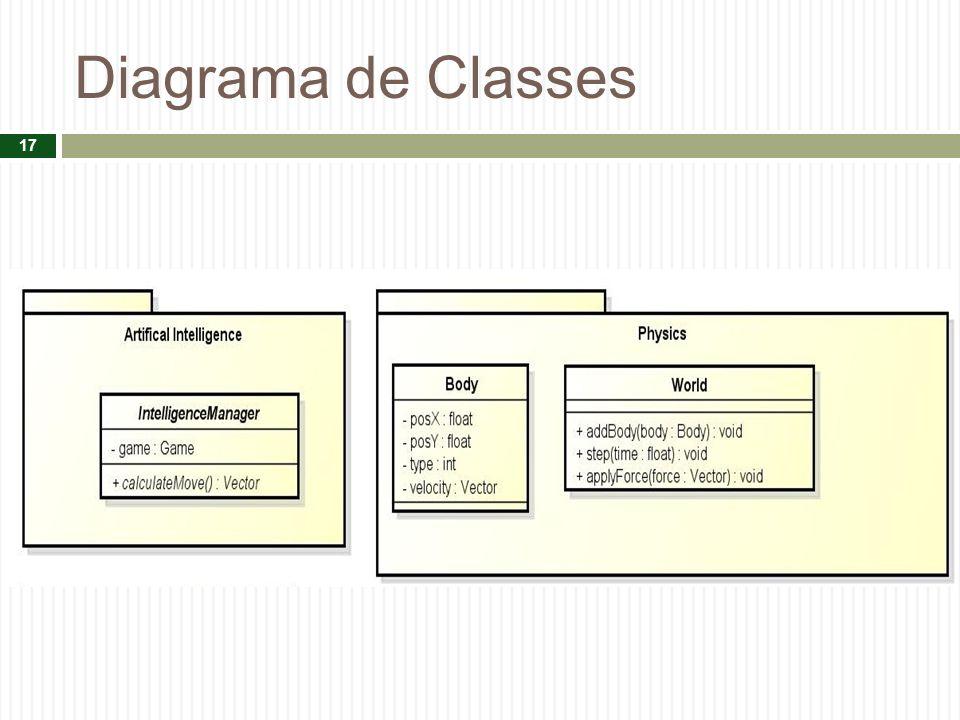 Diagrama de Classes 17