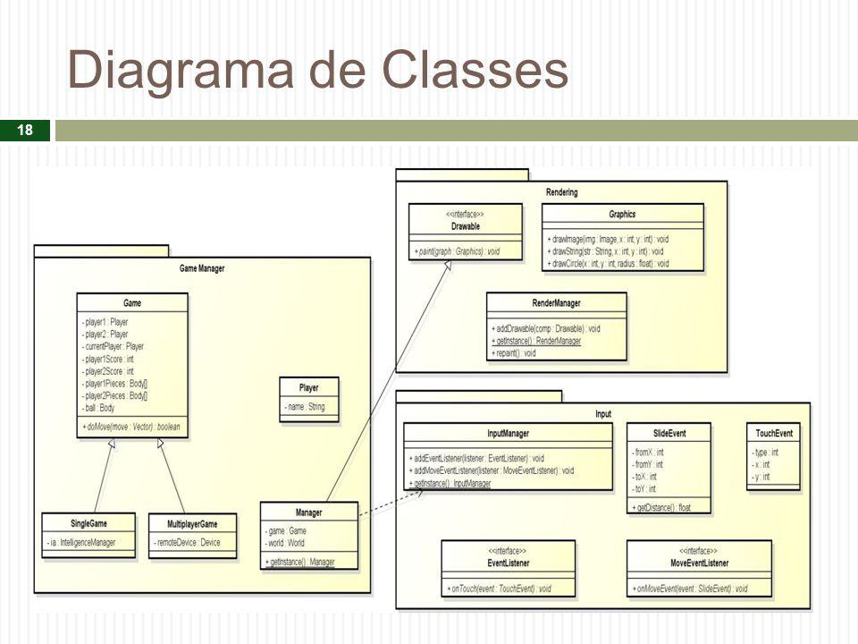 Diagrama de Classes 18