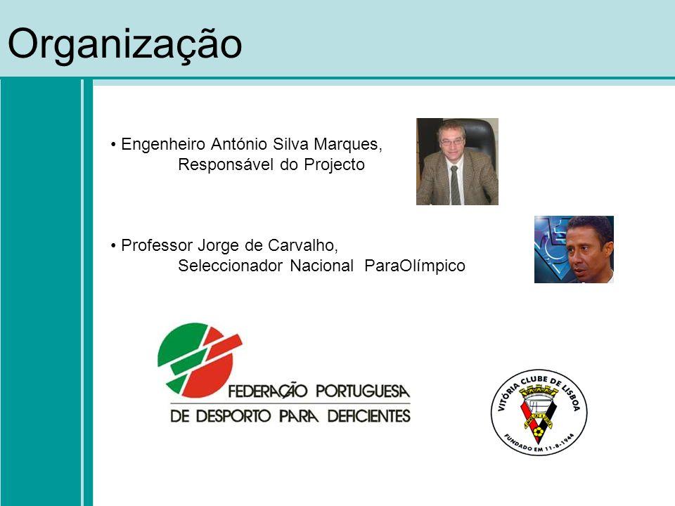 Equipas Participantes Associação dos Cegos e Amblíopes de Portugal Associação Nacional de Familias para a Integração da Pessoa Deficiente Associação S