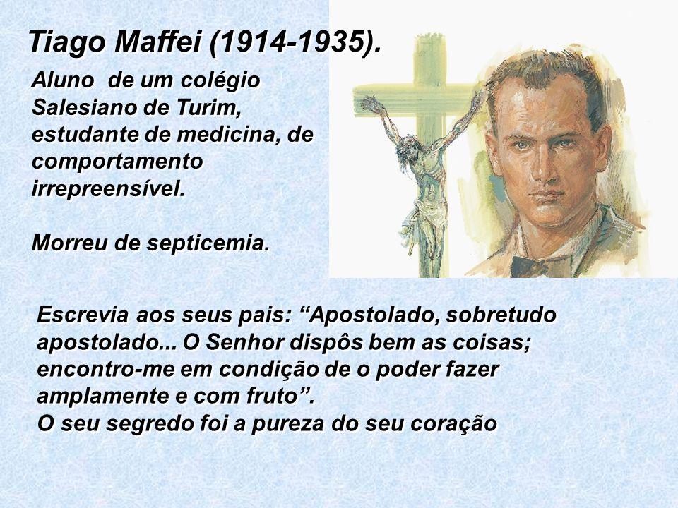 Activíssimo na Acção Católica.Por pertencer à Acção Católica foi preso e condenado à morte.