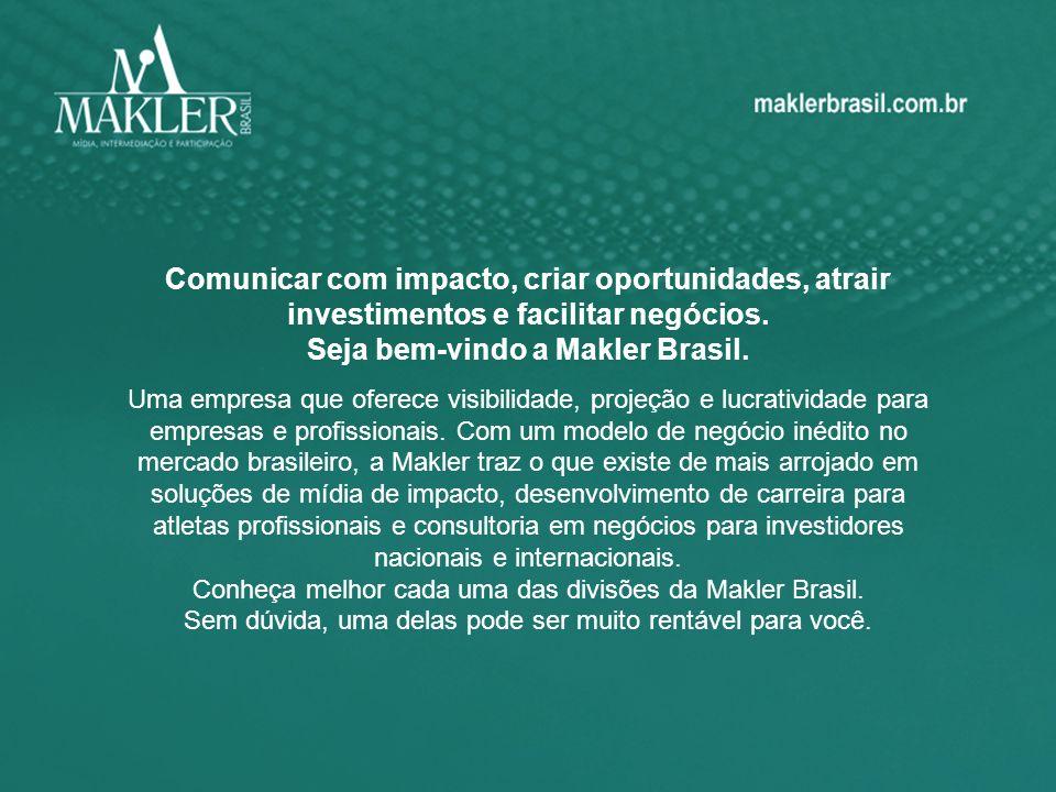 Comunicar com impacto, criar oportunidades, atrair investimentos e facilitar negócios. Seja bem-vindo a Makler Brasil. Uma empresa que oferece visibil