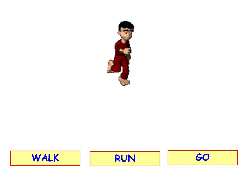 WALK RUN GO