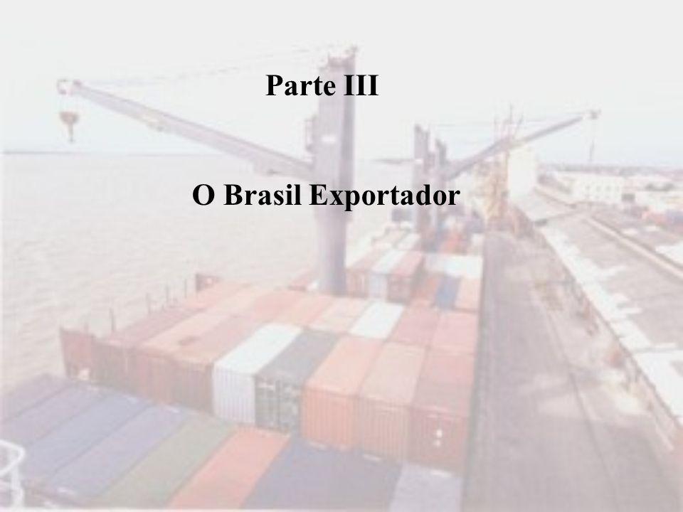 Parte III O Brasil Exportador