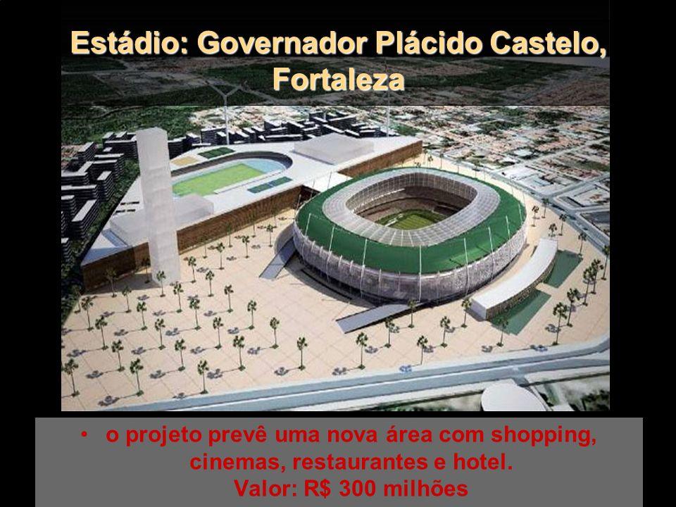 Estádio: Cícero Pompeu de Toledo SP Arquiteto: Ruy Ohtake Será reformado e construída cobertura nas cores branco e vermelho. Valor estimado: R$ 180 mi