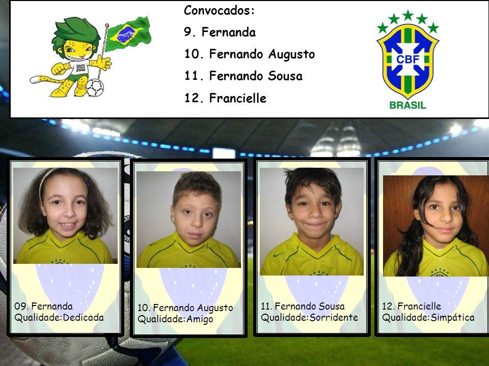 Atleta: Rafael Eduardo Naturalidade:Porto Alegre Time de origem:Grêmio Minhas habilidades:Jogar futebol