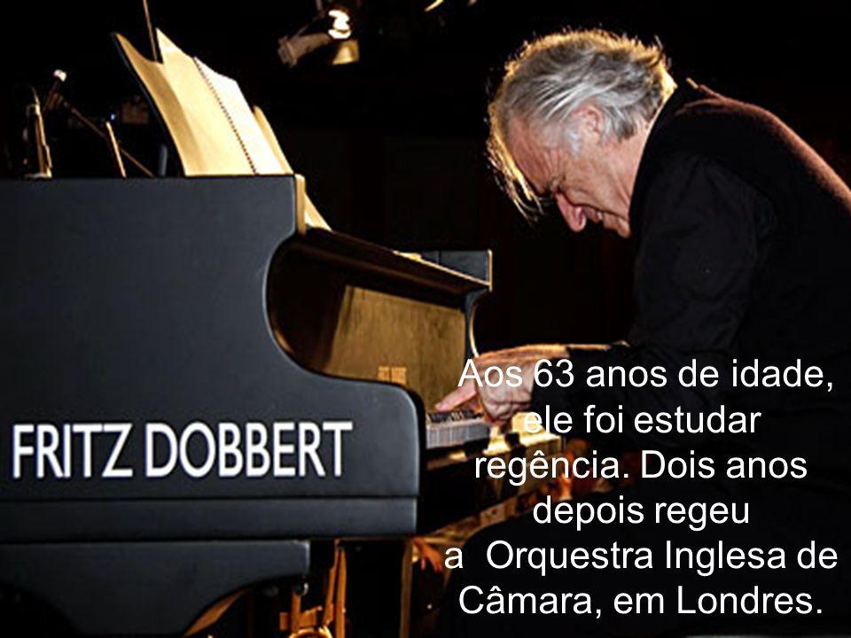Era o fim de um pianista. Afastou-se do piano, não da sua grande paixão, a música.