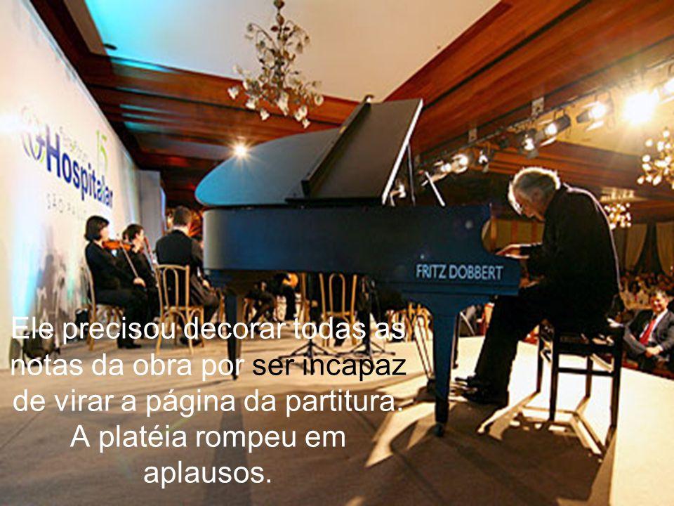 Em um concerto, em São Paulo, surpreendeu outra vez. Regeu a Nona Sinfonia de Beethoven, totalmente de cor.