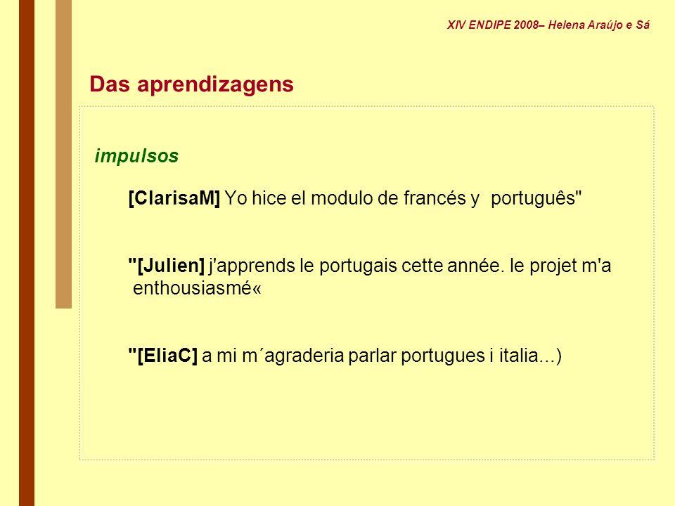 Das aprendizagens impulsos [ClarisaM] Yo hice el modulo de francés y português