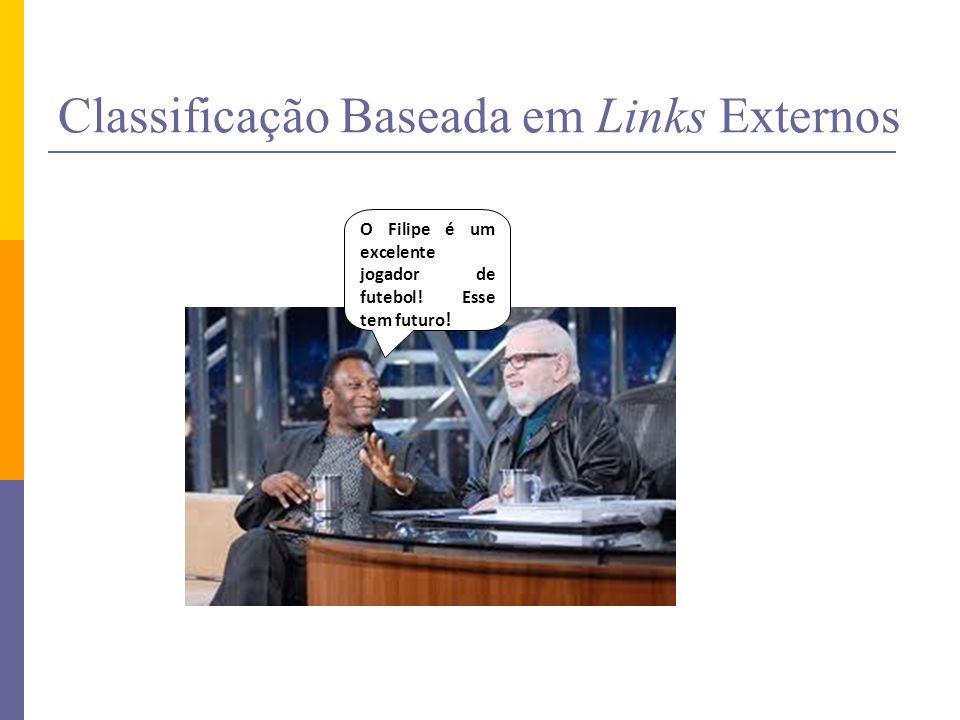 Classificação Baseada em Links Externos O Renan também tem futuro.