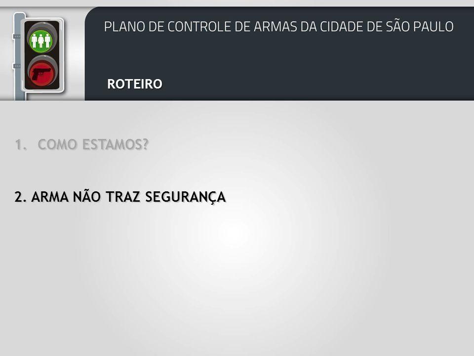 ROTEIRO 2. ARMA NÃO TRAZ SEGURANÇA