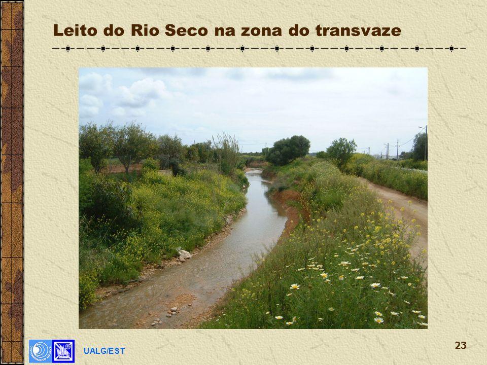 UALG/EST 23 Leito do Rio Seco na zona do transvaze