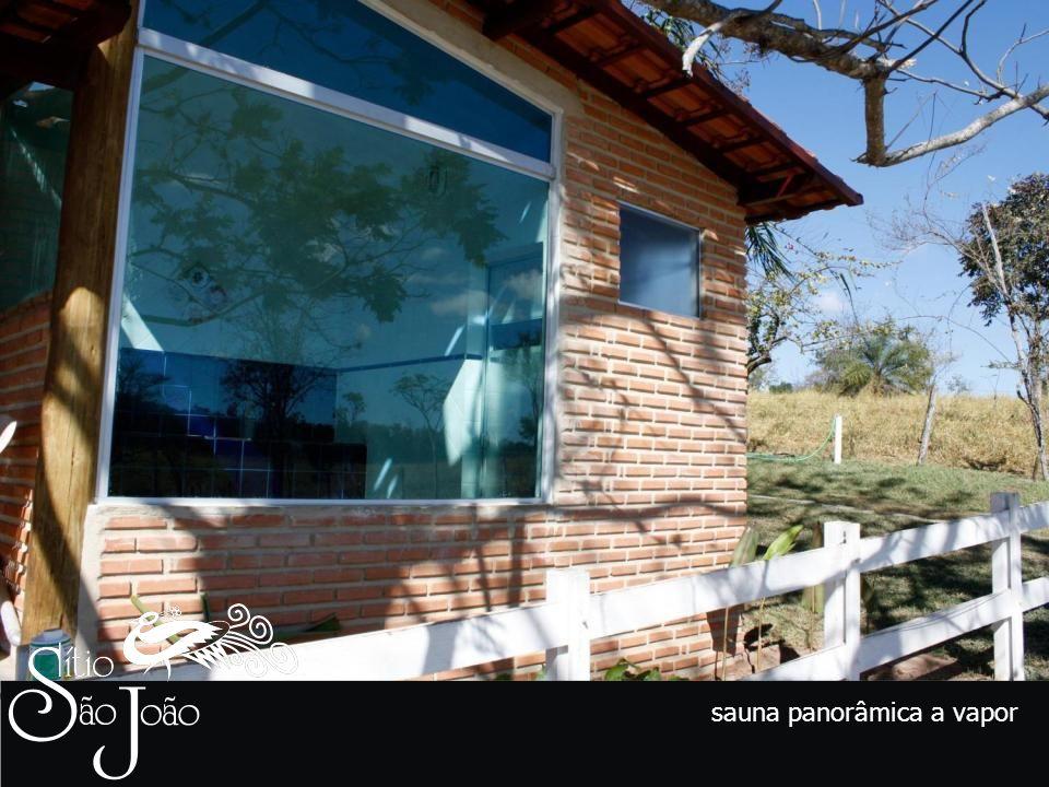 sauna panorâmica a vapor