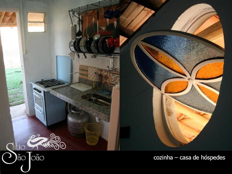 cozinha – casa de hóspedes
