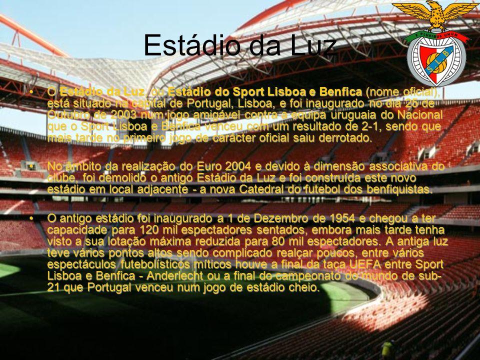 Os Estádios dos 3 Grandes Sporting C.P. S.L. Benfica F.C. Porto