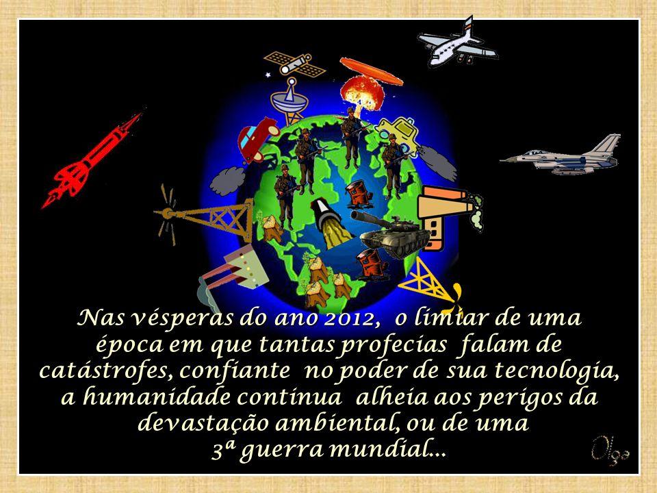 Nossa humanidade tem vivido imersa em valores materialistas, que estimulam a ganância, materialistas, que estimulam a ganância, a competição, a desigualdade entre povos, a exploração desenfreada dos recursos naturais do planeta...