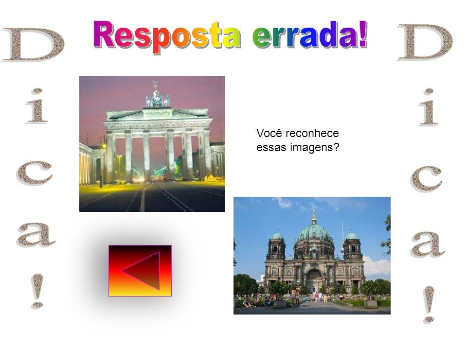 Antes da construção de Brasília,a cidade do Rio de Janeiro era a capital do Brasil.Qual é a capital da Alemãnha?. Berlin. Bremen. Hamburgo! Antes da c
