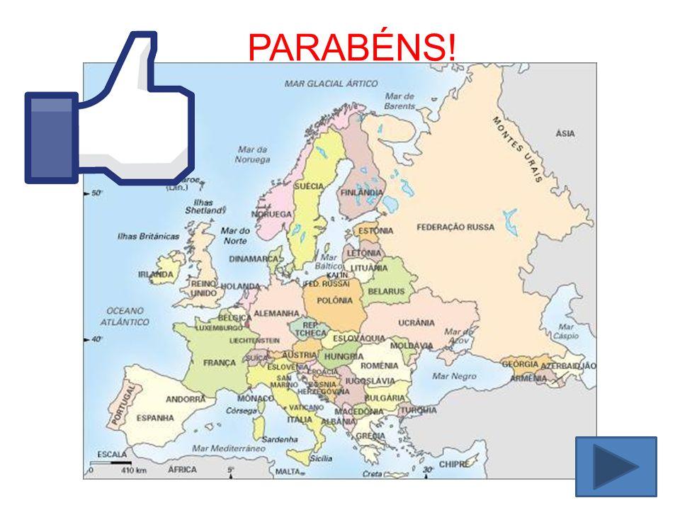 Dica: A Alemanha é vizinha da França, Holanda, Bélgica, Dinamarca.... RESPOSTA ERRADA
