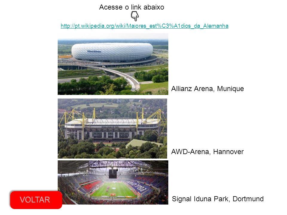O Maracanã é um dos estádios mais famosos do Rio de Janeiro. Qual desses é o nome do estádio de maior capacidade de torcedores da Alemanha e onde fica
