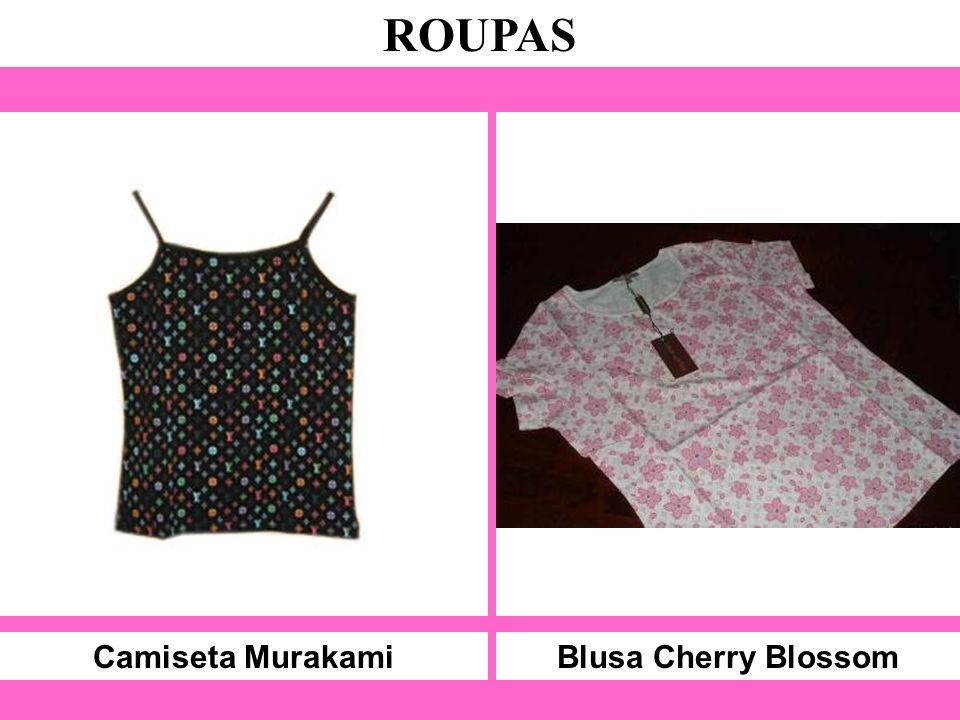 Camiseta Murakami ROUPAS Blusa Cherry Blossom