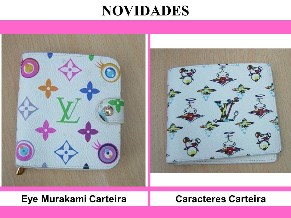 Eye Murakami Carteira NOVIDADES Caracteres Carteira