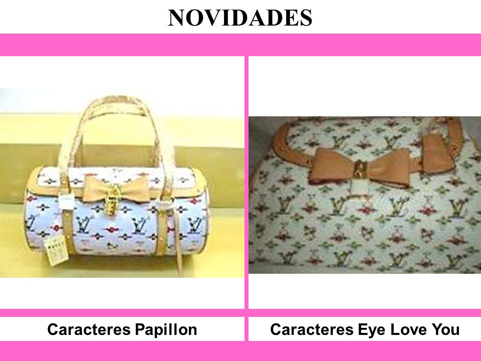 Caracteres Papillon NOVIDADES Caracteres Eye Love You