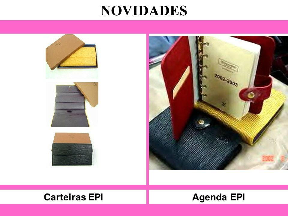 Carteiras EPI NOVIDADES Agenda EPI