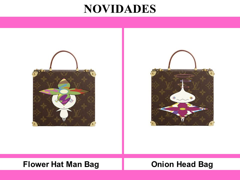 Flower Hat Man Bag NOVIDADES Onion Head Bag