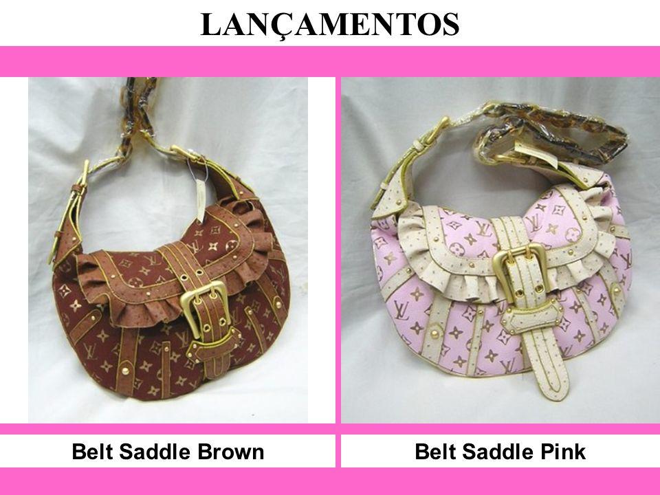 Belt Saddle Brown LANÇAMENTOS Belt Saddle Pink