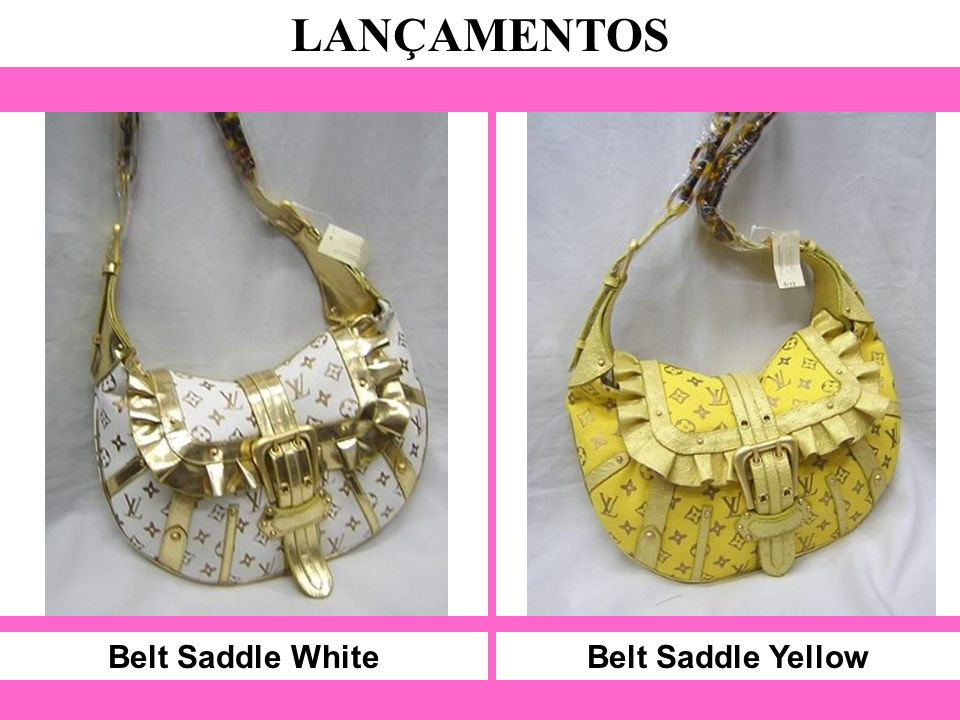 Belt Saddle White LANÇAMENTOS Belt Saddle Yellow
