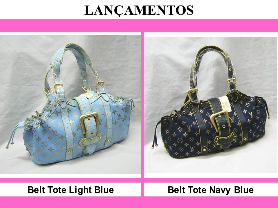 Belt Tote Light Blue LANÇAMENTOS Belt Tote Navy Blue