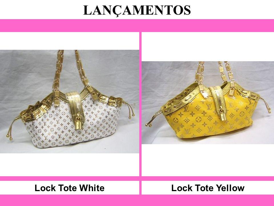 Lock Tote White LANÇAMENTOS Lock Tote Yellow