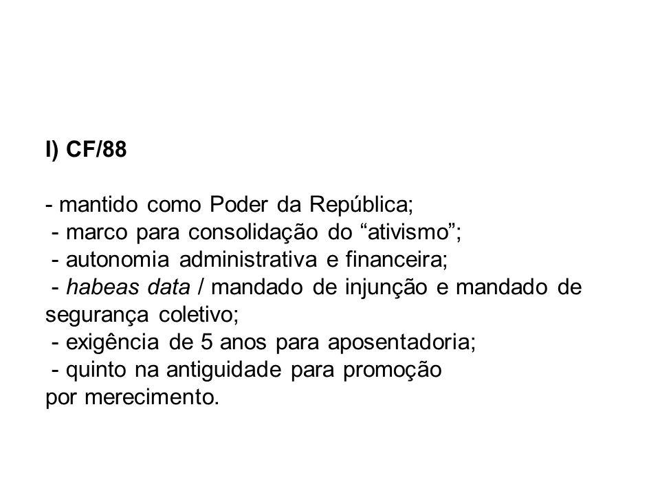 II) Estado brasileiro: - distribuição de rendas; - crise institucional; - crise funcionalidade.