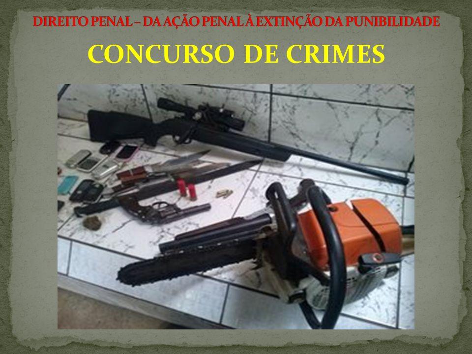 1) Todas as infrações penais admitem concurso de crimes.