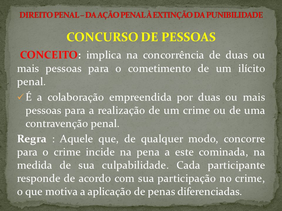 CONCURSO DE CRIMES (CONCURSUS DELICTORUM).ESPÉCIES:.