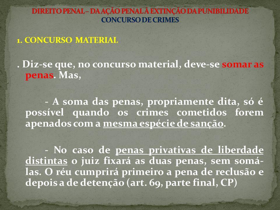 2.CONCURSO FORMAL a) PERFEITO:.