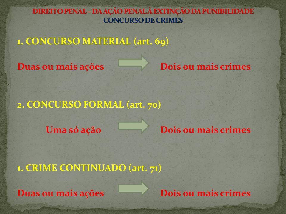 3.CRIME CONTINUADO - Art.