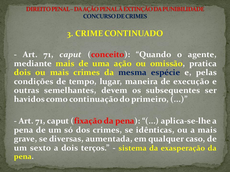 3.CRIME CONTINUADO - Art.