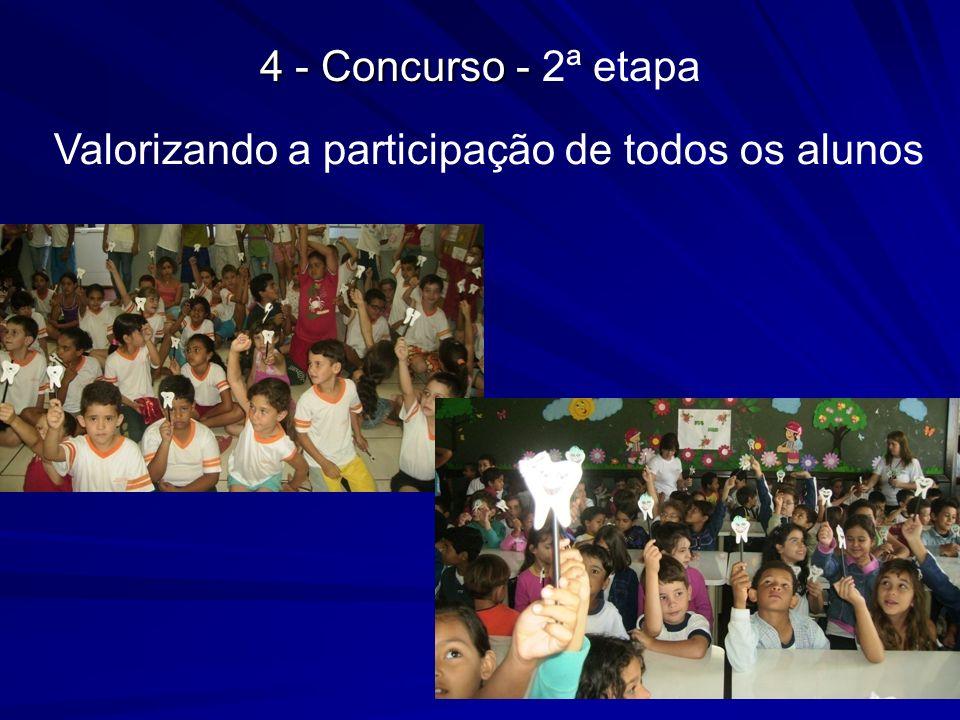 Valorizando a participação de todos os alunos 4 - Concurso - 4 - Concurso - 2ª etapa