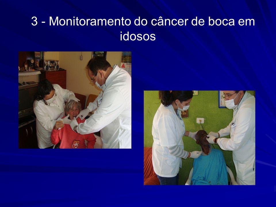 3 - Monitoramento do câncer de boca em idosos