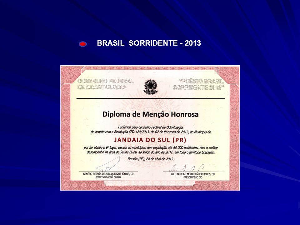 BRASIL SORRIDENTE - 2013