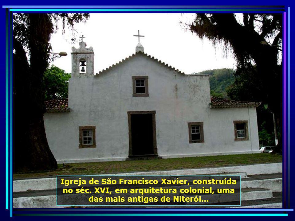 Igreja São Sebastião de Itaipu, de arquitetura simples, construída no século XVIII…
