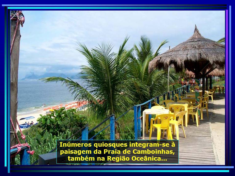 Na Praia de Piratininga, outra pertencente à Região Oceânica, a Pedra da Baleia se destaca…
