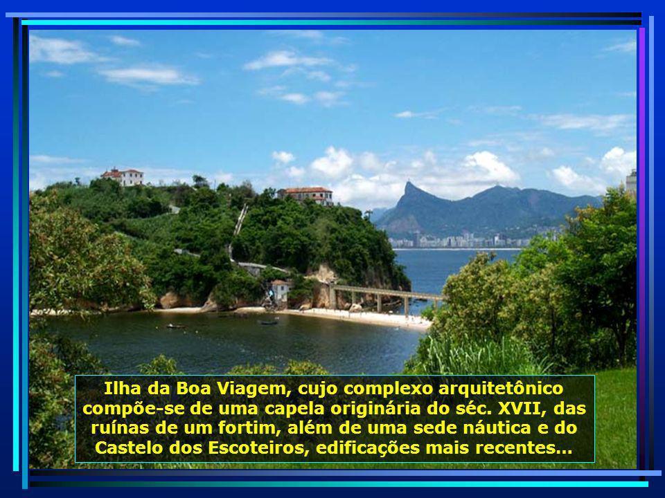 Parque da Cidade, de onde avistam-se as cidades de Niterói e do Rio de Janeiro, proporcionando uma paisagem deslumbrante…