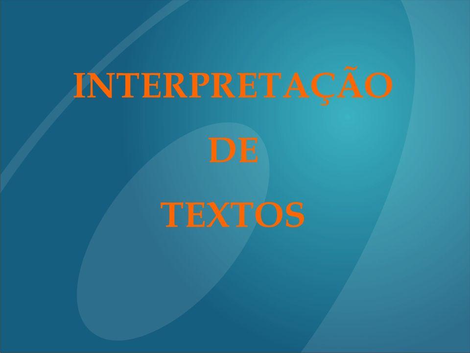 Os Dez Mandamentos da Interpretação de Textos